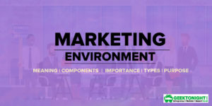 Marketing Environment – Meaning, Components, Importance