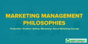 Marketing Concept: 5 Philosophy of Marketing Management