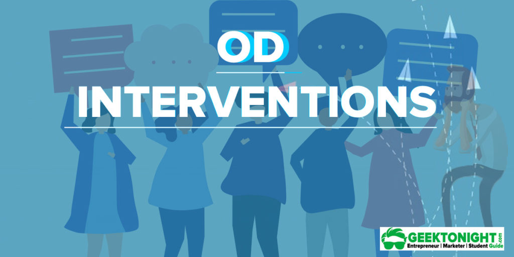 14 OD Interventions Type