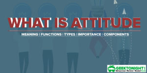 What is Attitude? Types, Components, Importance, Functions