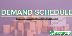 Demand Schedule | Definition, Example, [Individual & Market]