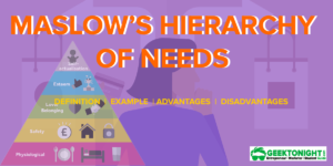 Maslow's Hierarchy of Needs | Definition, Example