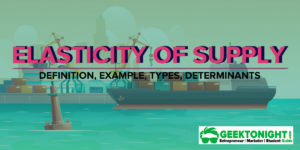 What is Elasticity of Supply? Definition, Formula, Example, Determinants