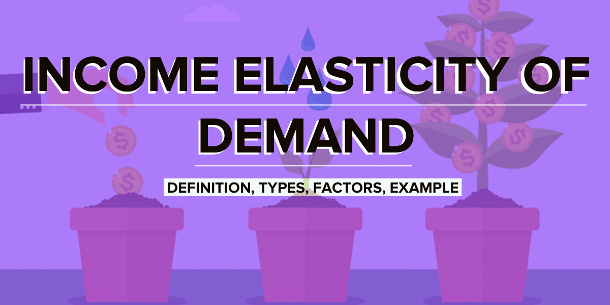 What is Income Elasticity of Demand? Types, Formula, Example, Factors