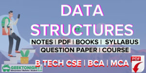Data Structures Notes | PDF, Book, Syllabus | B Tech [2020]