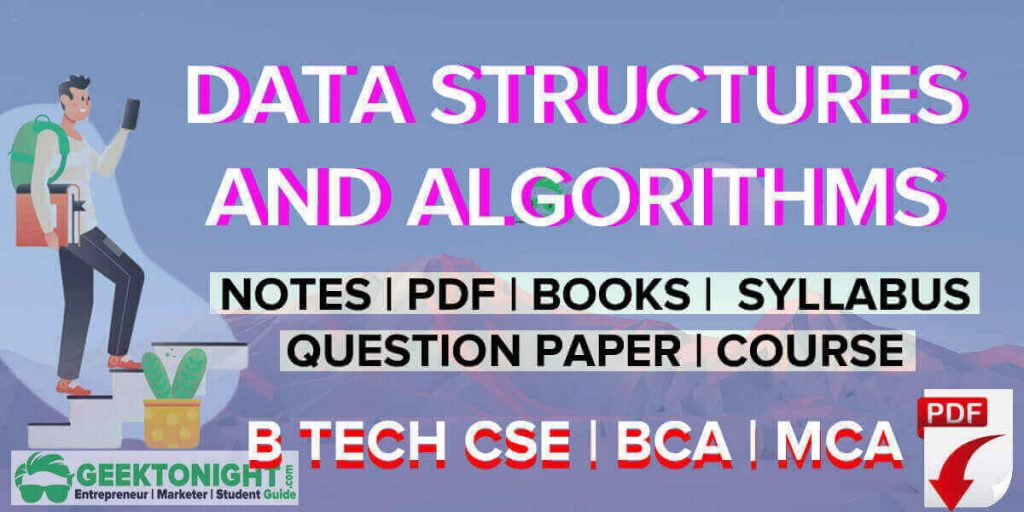 Data Structures and Algorithms Notes